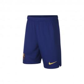 Nike Short Barcelona Home Blu Giallo Bambino
