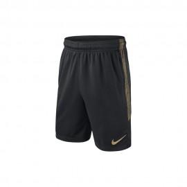 Nike Short Inter Strike Nero Oro Bambino