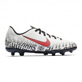 Nike Vapor Club 12 Nejmar FG/MG Bianco Rosso Bambino