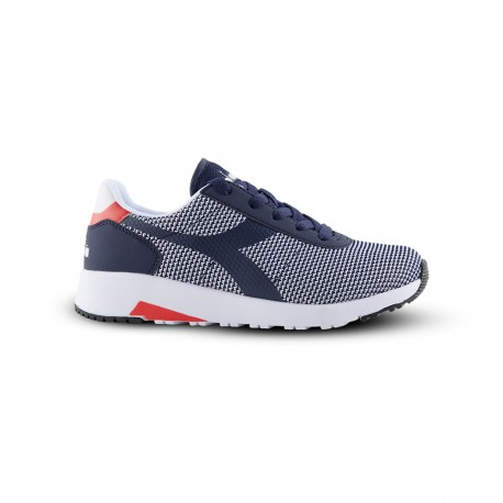 Diadora Sneakers Evo Run Gs Blu Bambino