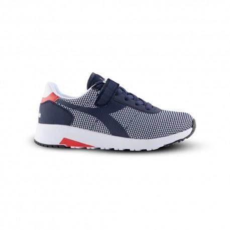 Diadora Sneakers Evo Run Psv Blu Bambino