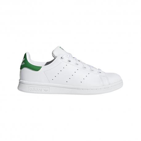 Adidas Stan Smith GS Bambino Bianco/Verde