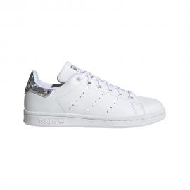 ADIDAS originals sneakers stan smith gs bianco argento bambino
