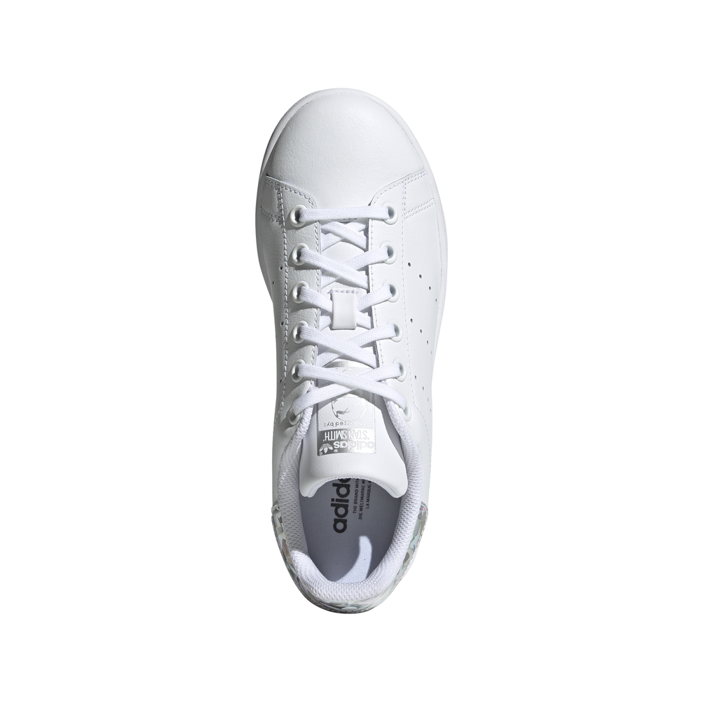 ADIDAS originals sneakers stan smith gs bianco argento