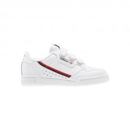 ADIDAS originals sneakers continental 80 cf c ps bianco nero bambino