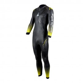 Aqua Sphere Muta Nuoto Racer 2.0 Nero Giallo Uomo