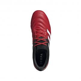 ADIDAS scarpe da calcio copa 20.1 fg rosso bianco uomo