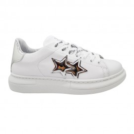 2star Sneakers Princess Argento Donna
