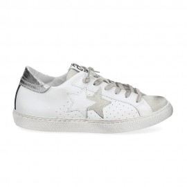2star Sneakers Flat Nero Donna