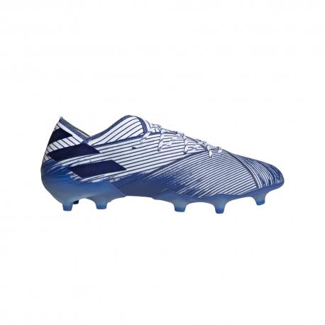 ADIDAS scarpe da calcio nemeziz 19.1 fg bianco royal uomo