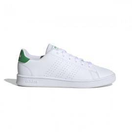 ADIDAS sneakers advantage k bianco verde bambino