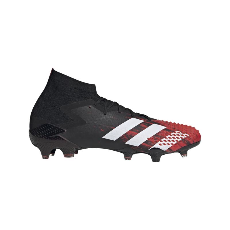 ADIDAS scarpe da calcio predator dracon 20.1 fg nero bianco uomo