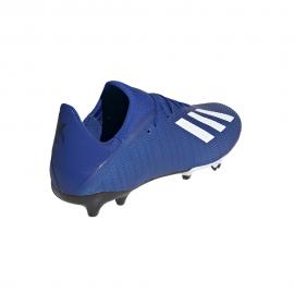 ADIDAS scarpe da calcio x 19.3 fg royal bianco uomo