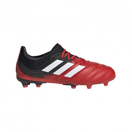 ADIDAS scarpe da calcio copa 20.1 fg rosso bianco bambino