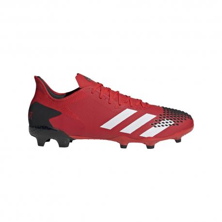 ADIDAS scarpe da calcio predator 20.2 fg nero bianco uomo
