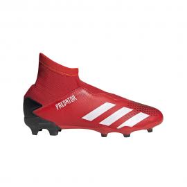 ADIDAS scarpe da calcio predator 20.3 ll fg nero bianco bambino