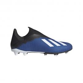 ADIDAS scarpe da calcio x 19.3 ll fg royal bianco uomo