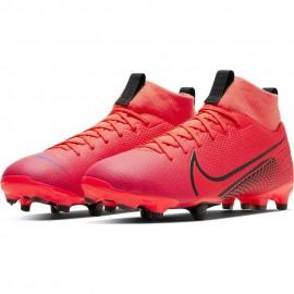 Nike Scarpe Da Calcio Superfly 7 Academy FgMg Rosso Nero Bambino