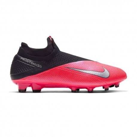 Nike Scarpe Da Calcio Phantom Vision 2 Elite Df Fg Nero Argento Uomo