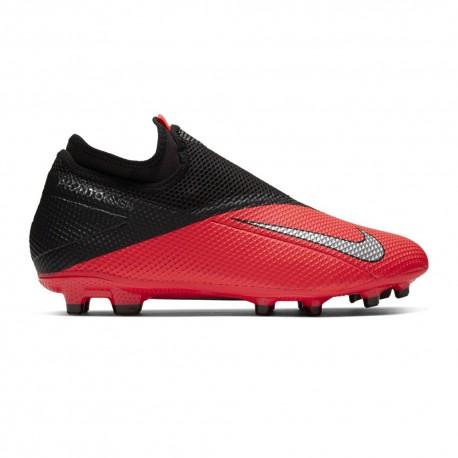 Nike Scarpe Da Calcio Phantom Vision 2 Academy Df FgMg Nero Argento Uomo