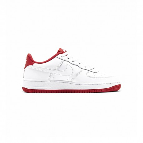 Nike Sneakers Air Force 1 1sp20 Gs Bianco Rosso Bambino