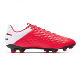 Nike Scarpe Da Calcio Tiempo Legend 8 Academy Fg Mg Rosso Nero Uomo