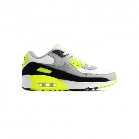 Nike Sneakers Air Max 90 Ltr Gs Lime Grigio Bambino