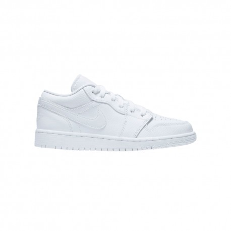 Nike Sneakers Jordan 1 Low Gs Bianco Bambino