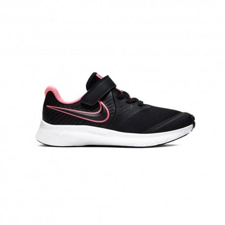 Nike Sneakers Star Runner 2 Psv Nero Rosa Bambino