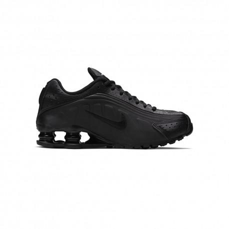 Nike Sneakers Shox R4 Gs Nero Bambino