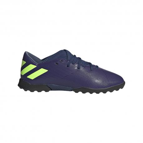 ADIDAS scarpe nemeziz messi 19.3 tf indigosignal verde bambino