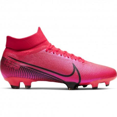 Nike Scarpe Da Calcio Superfly 7 Pro Fg Rosso Nero Uomo