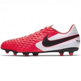Nike Scarpe Da Calcio Tiempo Legend 8 Club FgMg Rosso Nero Uomo