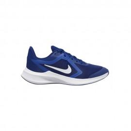 Nike Sneakers Downshifter 10 Gs Blu Royale Bianco Bambino
