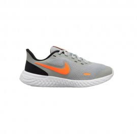 Nike Sneakers Revolution 5 Gs Grigio Arancio Bambino