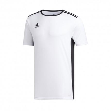 ADIDAS maglia calcio entrada 18 team bianco nero uomo