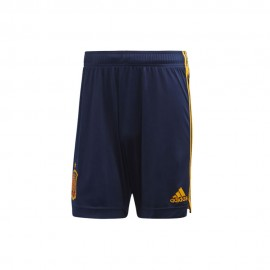ADIDAS pantaloncini calcio spagna home euro20 blu uomo
