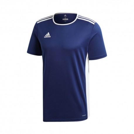 ADIDAS maglia calcio entrada 18 team blu bianco uomo