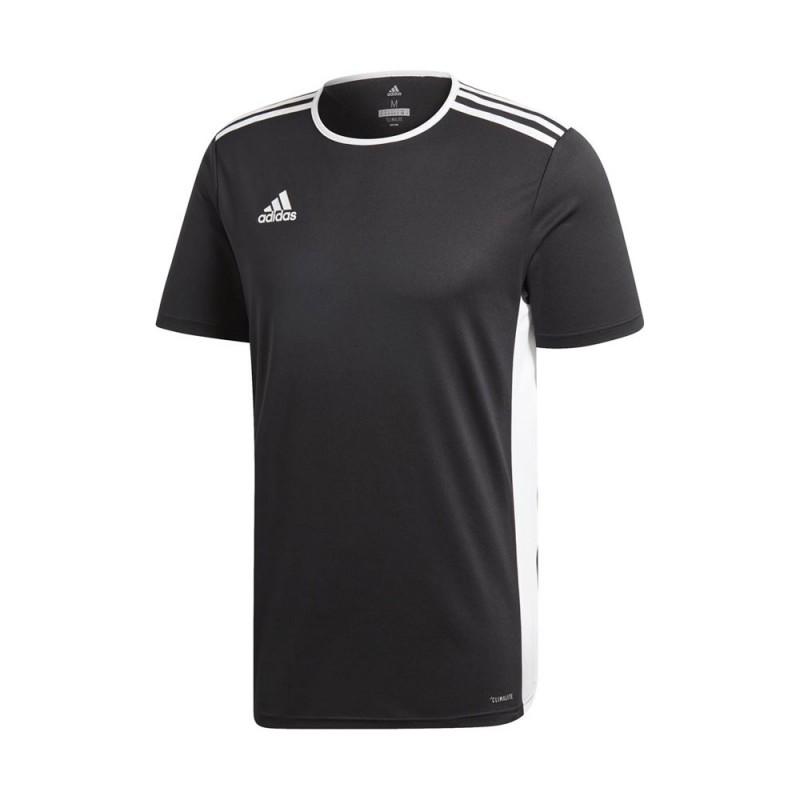 ADIDAS maglia calcio entrada 18 team nero bianco uomo