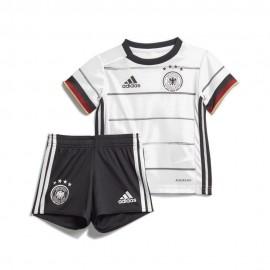 ADIDAS completo calcio germany home bianco nero baby