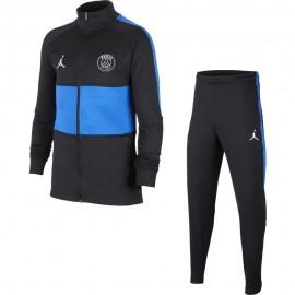 Nike Tuta Calcio Psg Dry Strike Jordan Nero Blu Bambino