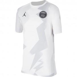 Nike Maglia Calcio Psg Pre Match Jordan Bianco Nero Bambino