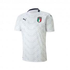 Puma Maglia Calcio Italia Away Replica Bianco Blu Bambino