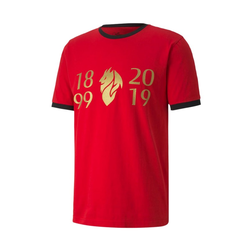 Puma Maglia Calcio Milan Fan 120 Rosso Nero Bambino