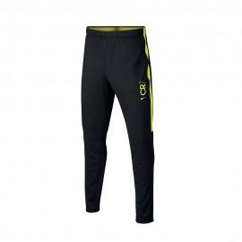 Nike Pantaloni Allenamento Calcio Cr7 Nero Giallo Bambino