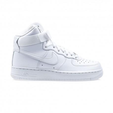 Nike Sneakers Air Force 1 Hi Bianco Donna