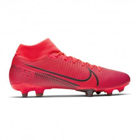 Nike Scarpe Da Calcio Superfly 7 Academy Fg Mg Rosso Nero Uomo
