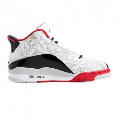 Nike Sneakers Air Jordan Dubz Zero Grigio Rosso Uomo