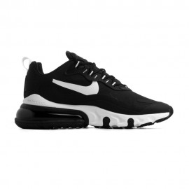 Nike Sneakers Air Max 270 React Nero Bianco Donna