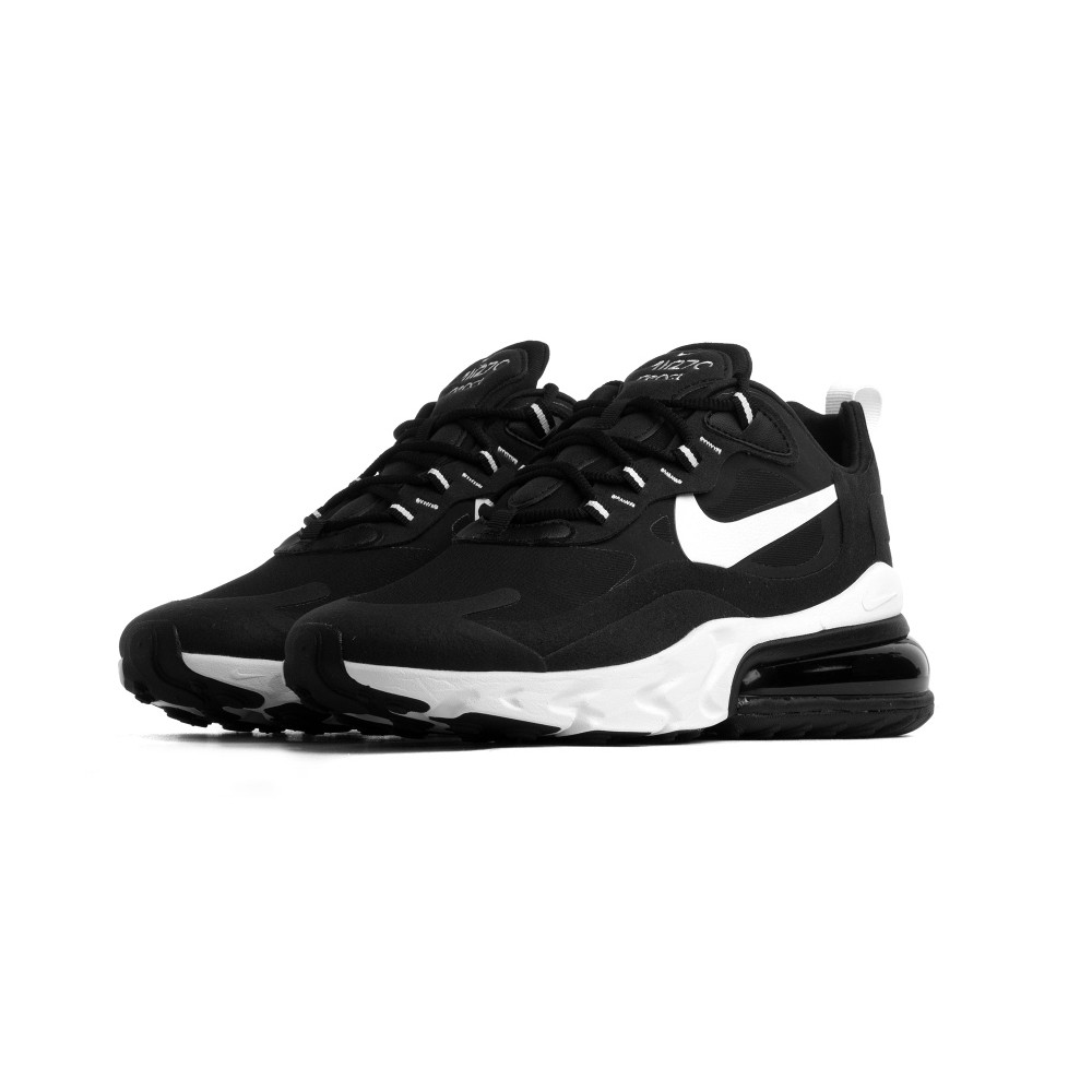 Nike Sneakers Air Max 270 React Nero Bianco Donna Acquista
